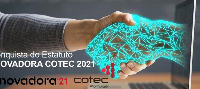 Conquista do Estatuto INOVADORA COTEC 2021